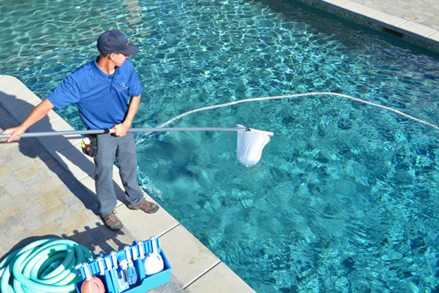 What is Done in a Pool Cleaning Service